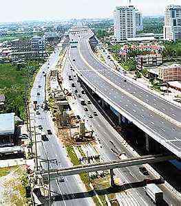 Burapha Withi Expressway Bang Na Expressway