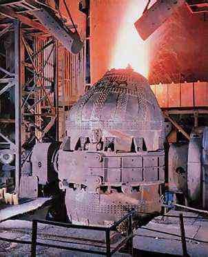 Linz Donawitz oven Modern Steel Making
